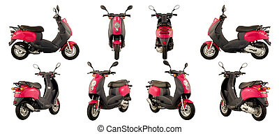 scooters and motorcycles - Collection of photos of scooters...
