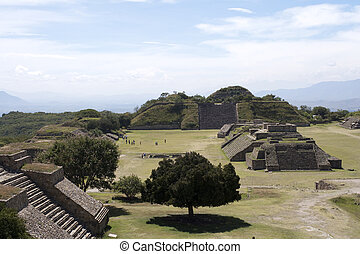 Alban Hills Mexico - Monte Albán is a large pre-Columbian...