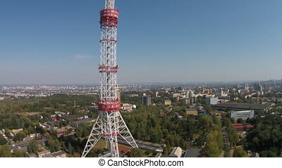 Kiev TV Tower, Ukraine - The Kiev TV Tower is a 385 m-high...