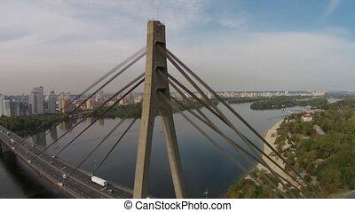 The Moscow Bridge, Ukraine - The Moscow Bridge is a...
