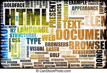 HTML Script Code as an Education Background