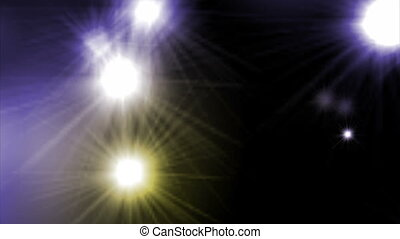 Color Camera Flashes - Paparazzi multiple camera flash...