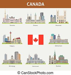 Cities in Canada - Famous places of major cities in Canada
