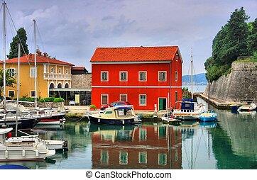 Zadar harbour