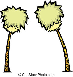 Pair of Palm Trees