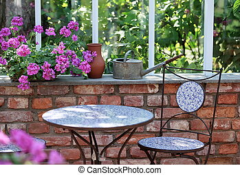 interior Greenhouses - geraniums in Greenhouses wonderful...