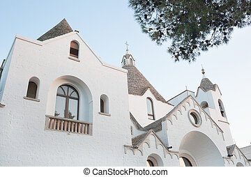 St. Anthony church in Alberobello - St. Anthony church....