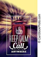 Keep Call Phone Box