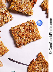oatflakes biscuits - healthy sugarfree cookies with oak...