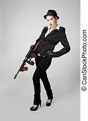 Dangerous mafia woman