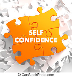 Self Confidence on Yellow Puzzle. - Self Confidence on...