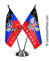 Donetsk Peoples Republic - Miniature Flags - Donetsk Peoples...