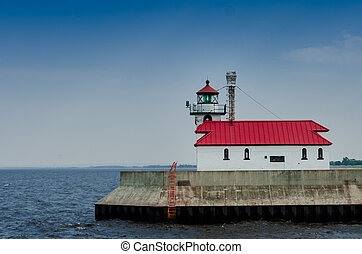 Lighthouse on Lake Superior - The lighthouse in Duluth, MN...