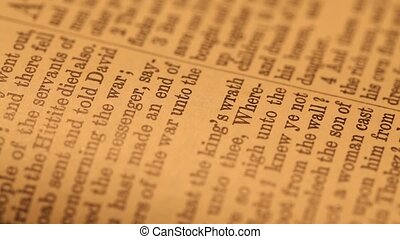 Holy bible - Close up of a Holy Bible