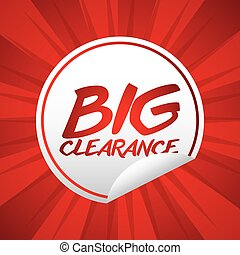 clearance design - clearance graphic design , vector...