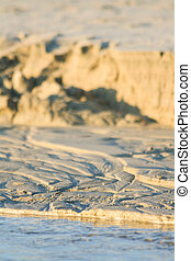 Sandy Dover. Miniature on the beach in Sardinia
