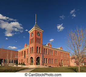 old Flagstaff Courthouse - the old 1894 Flagstaff sandstone...