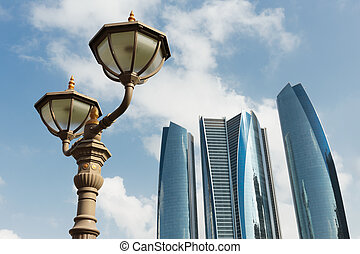 Skyscrapers in Abu Dhabi, United Arab Emirates