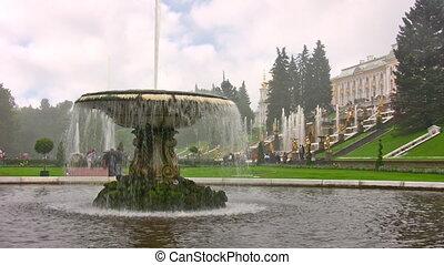 Peterhof. Petersburg.