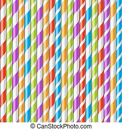 Drinking straws background