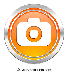 photo camera icon, photography sign