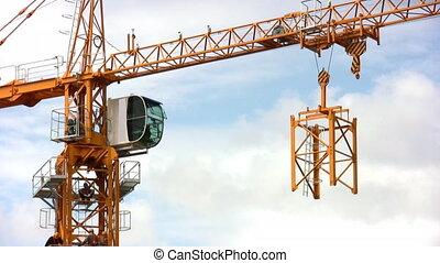 high building crane - High building crane