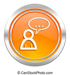 forum icon, chat symbol, bubble sign