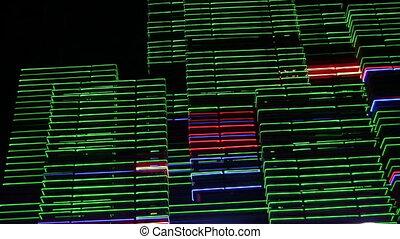 night neon light casino 3 - Night neon lights of a casino 3