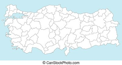 Map of Turkey - Large and detailed maps of all turkish...