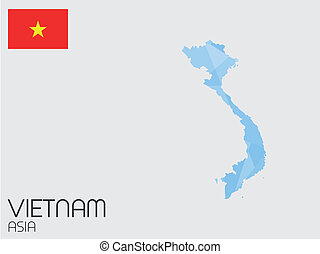 Set of Infographic Elements for the Country of Vietnam - A...