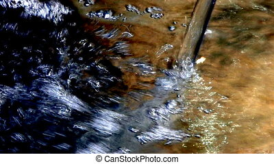 HD water flowing Canon XH A1, FullHD, 1080p, 25fps,...