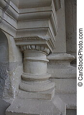 Chambord - Details of Chambord Castle in France