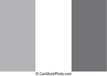 Illustrated grayscale flag of the country of Cote DIvoire -...