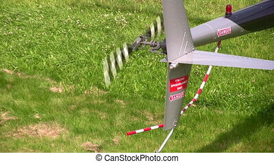 helicopter propeller - Propeller of helicopter