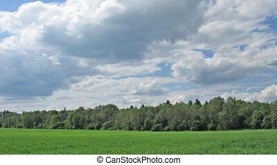 cloud landscape time lapse