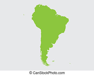 Shape of the Continent of South America - The Shape of the...