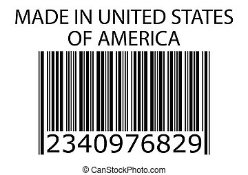 Illustration of stamp marked Made in USA - An Illustration...