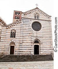 Genoa Church in the historic center