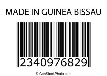Illustration of stamp marked Made in GuineaBissau - An...