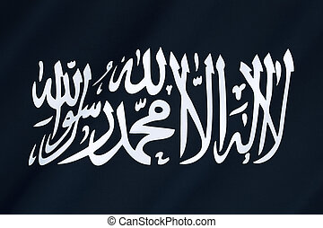 Flag of Al-Qaeda - Al-Qaeda is a global militant Islamist...