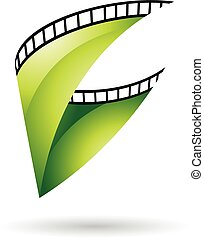 Green Glossy Film Reel icon - Green Glossy Film Reel...