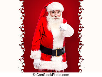 You are the next one - Santa pointing towards the camera and...