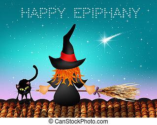 Happy Epiphany - illustration of Epiphany