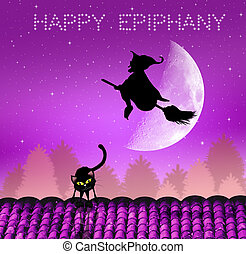 Happy Epiphany - illustration of Epiphany