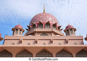 Putra Mosque is the principal mosque of Putrajaya, Malaysia.