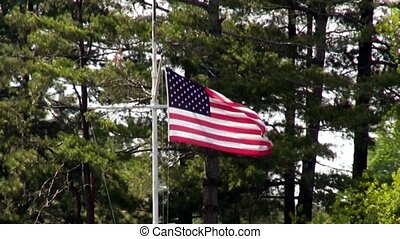American Flag Fourth of July