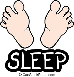Sleep foot - Creative design of sleep foot