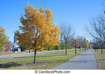 Liberty State Park New Jersey City - Autumn Fall in Liberty...