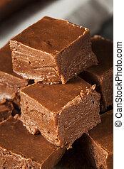 casero, Oscuridad, chocolate, dulce de azúcar,