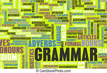What Is Grammar Clip Art